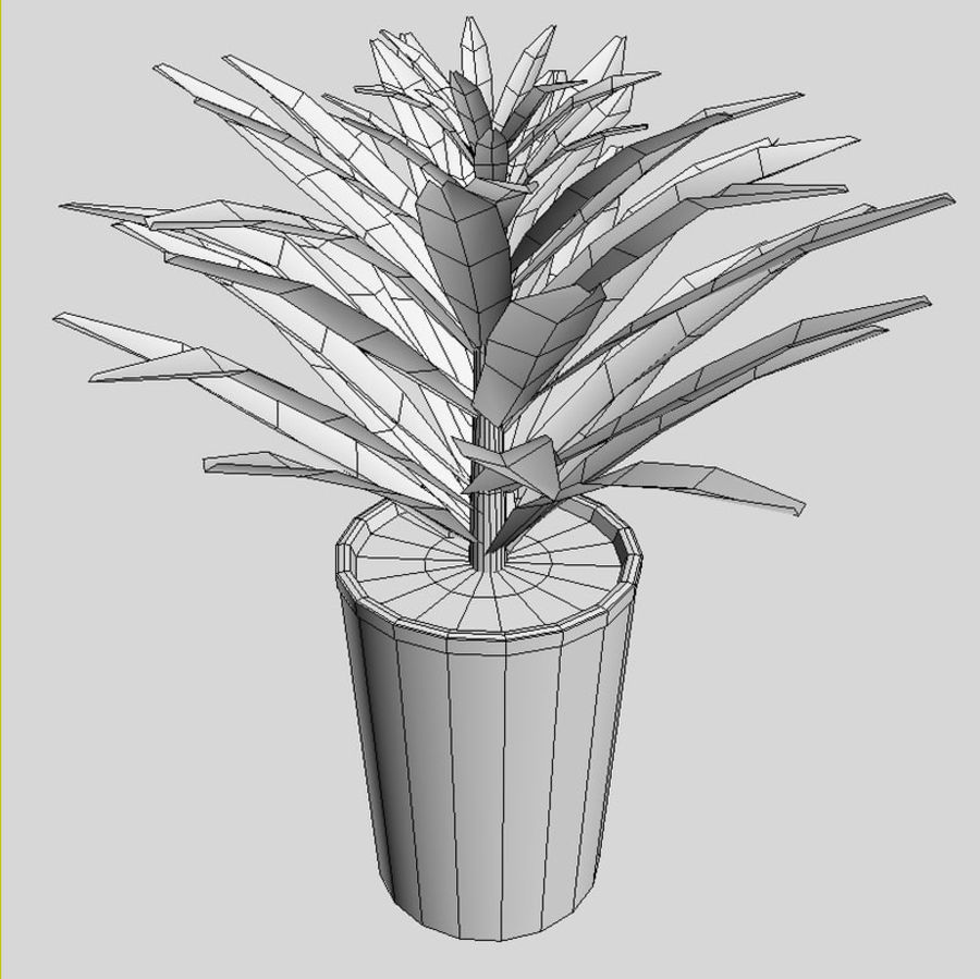 Plant royalty-free 3d model - Preview no. 3