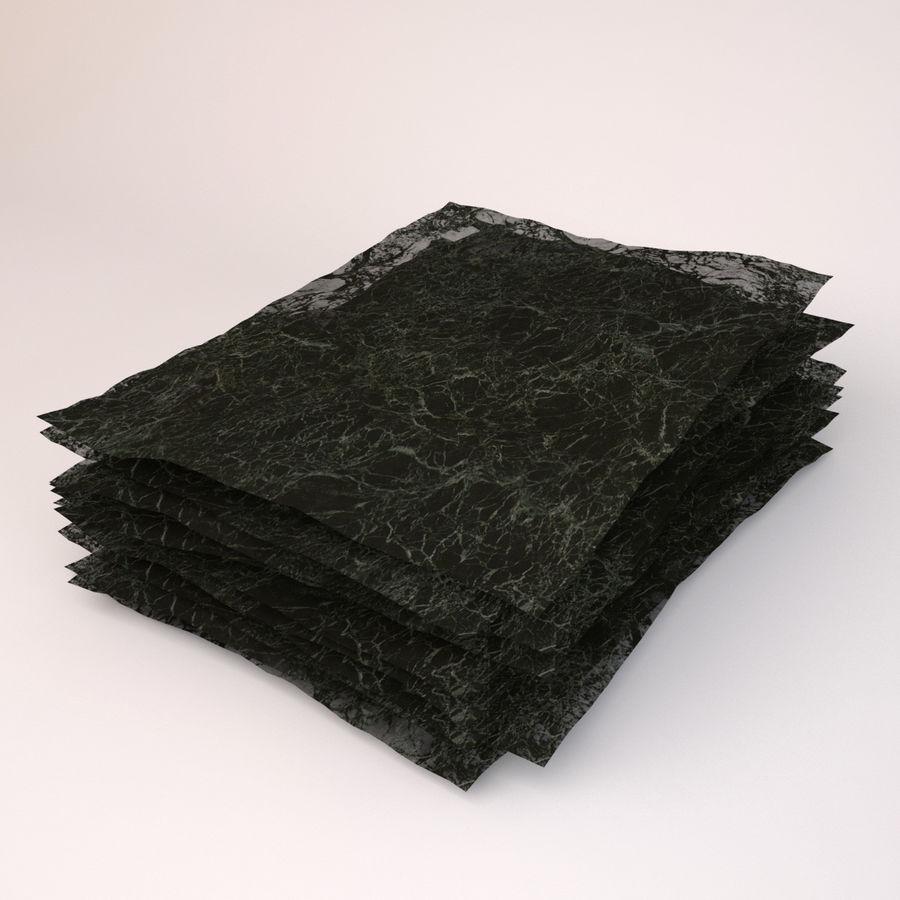 Roasted Seaweed Paper 3d Model 19 C4d Obj Max Fbx 3ds Free3d