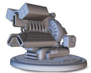 Railgun Turret - Model Only 3d model