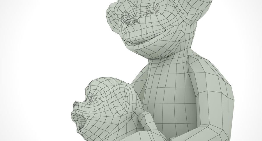 Macaco royalty-free 3d model - Preview no. 14