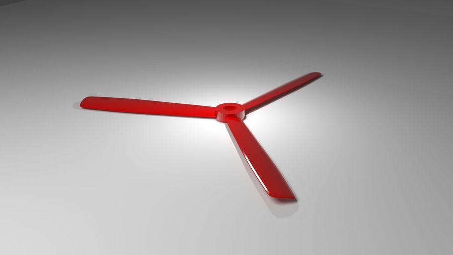 Triblade propeller 3D Model $1 -  unknown  stl  obj  fbx