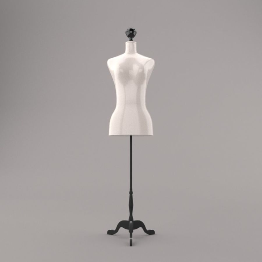 Stockman Mannequin royalty-free 3d model - Preview no. 1