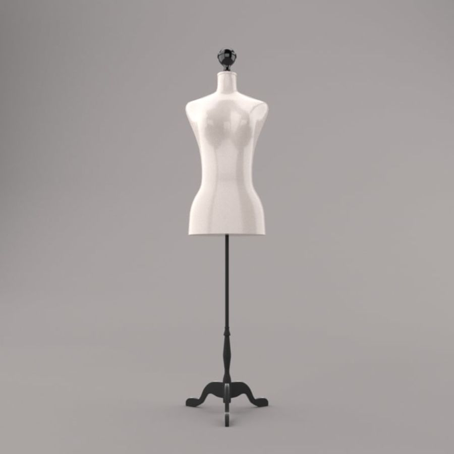 Stockman Mannequin royalty-free 3d model - Preview no. 5