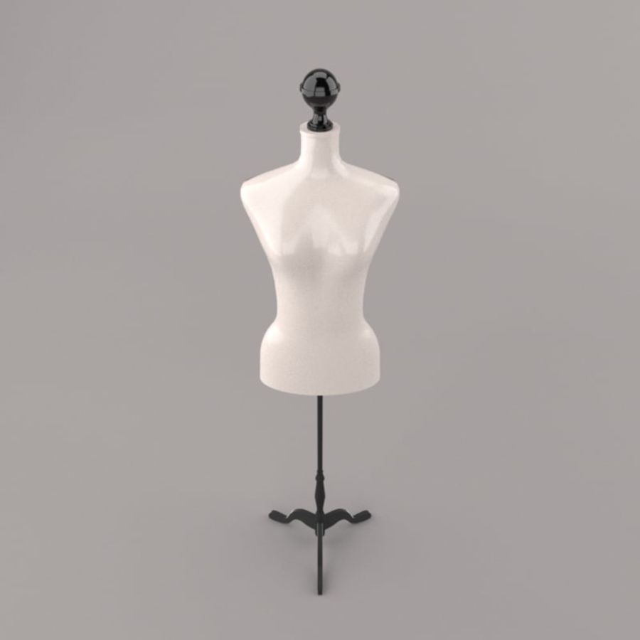 Stockman Mannequin royalty-free 3d model - Preview no. 3