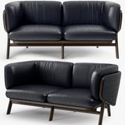 De La Espada - Nichetto 102M Stanley 2 seater sofa 3d model