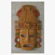 玛雅面具 3d model