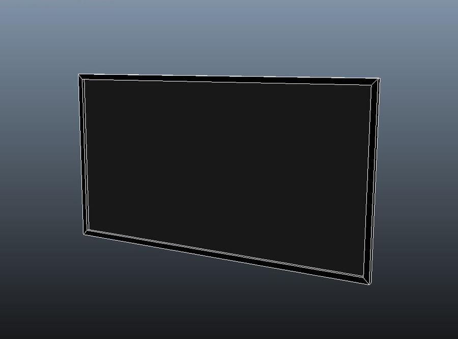 Télévision à écran plat royalty-free 3d model - Preview no. 5