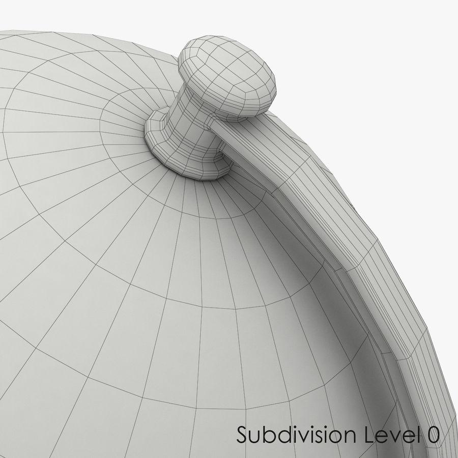 Rotating globe royalty-free 3d model - Preview no. 9