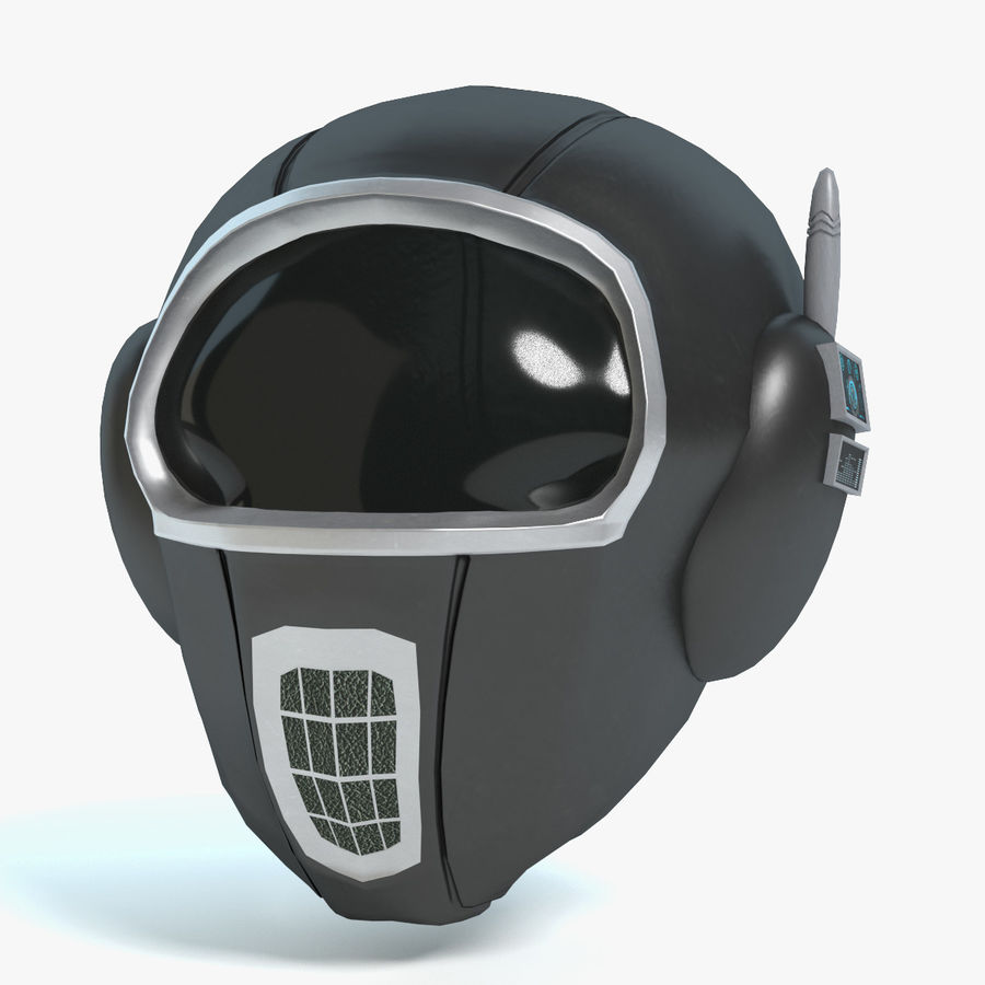 Scifi Helmet royalty-free 3d model - Preview no. 1