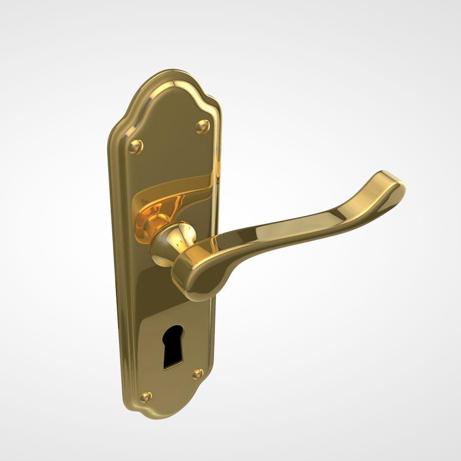 Door Handle royalty-free 3d model - Preview no. 1