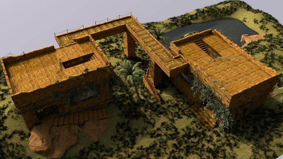 tempel royalty-free 3d model - Preview no. 8