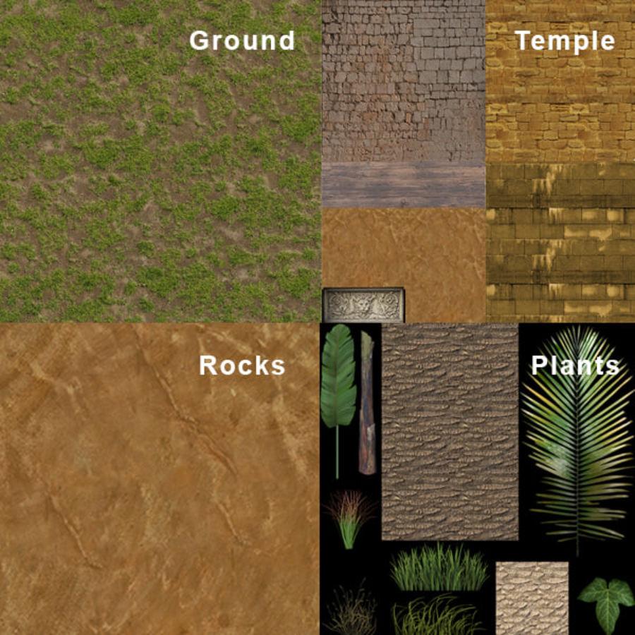 tempel royalty-free 3d model - Preview no. 12