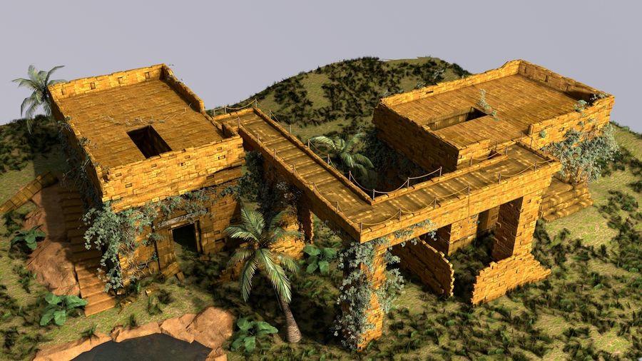 tempel royalty-free 3d model - Preview no. 7