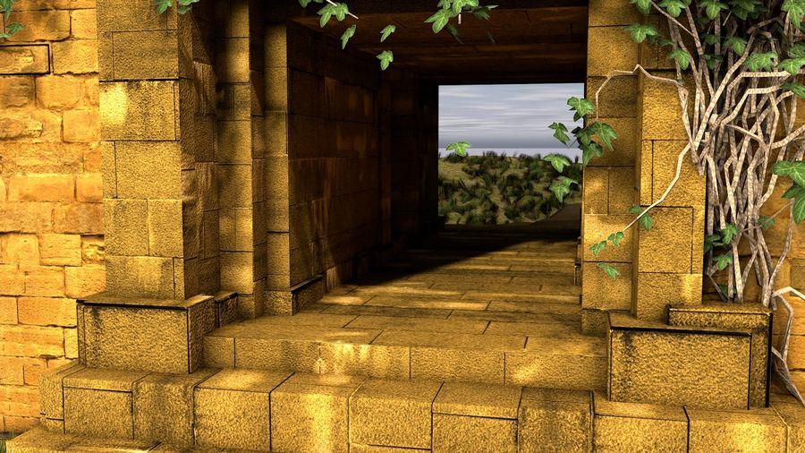 tempel royalty-free 3d model - Preview no. 9