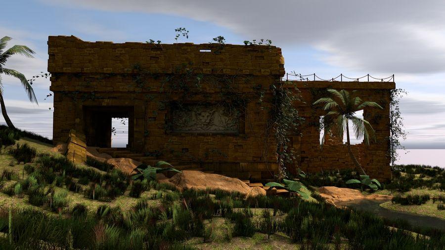 tempel royalty-free 3d model - Preview no. 4