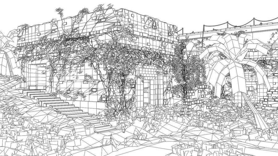 tempel royalty-free 3d model - Preview no. 11
