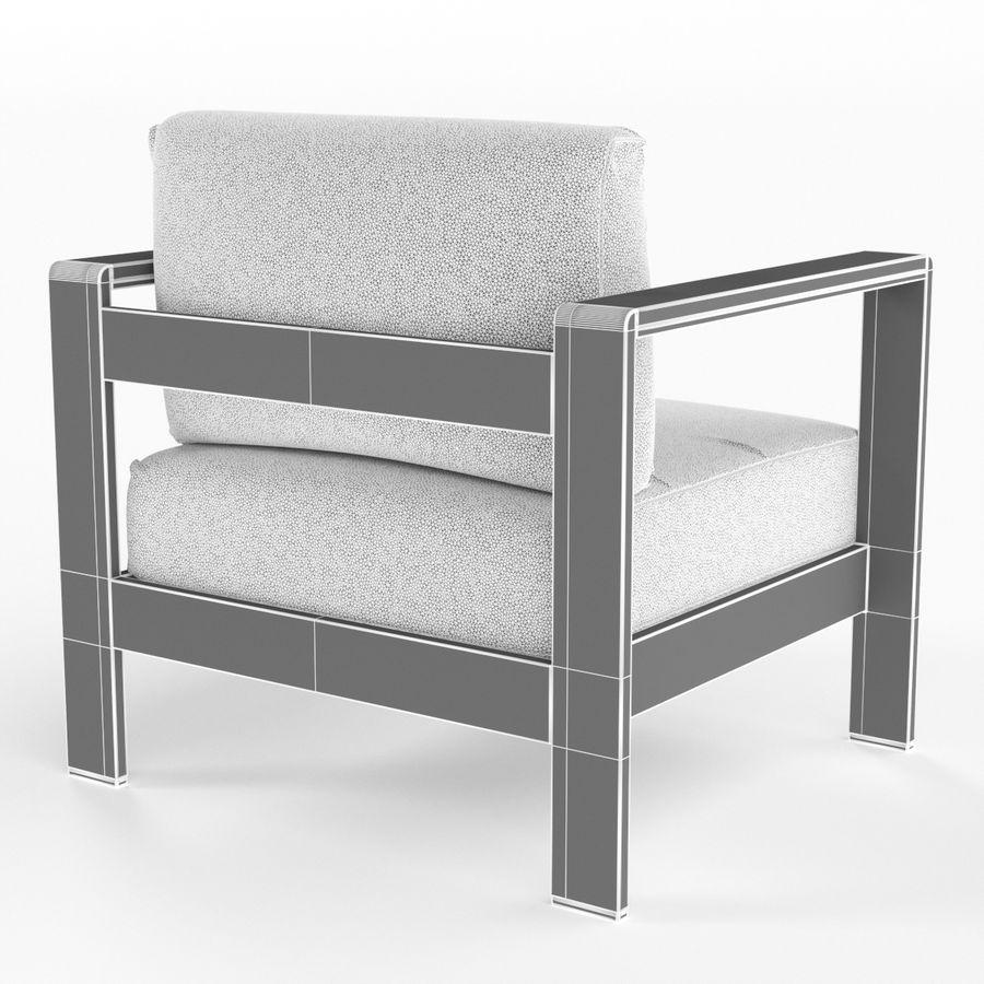 Conjunto De Muebles De Aluminio Sillon Sofa De Dos Plazas Mesa De