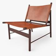 Jorge Zalszupin Pair of Lounge Chair 3d model