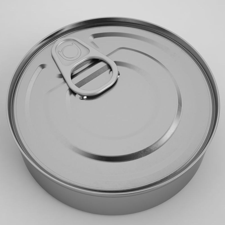 Food Can 03 royalty-free 3d model - Preview no. 7