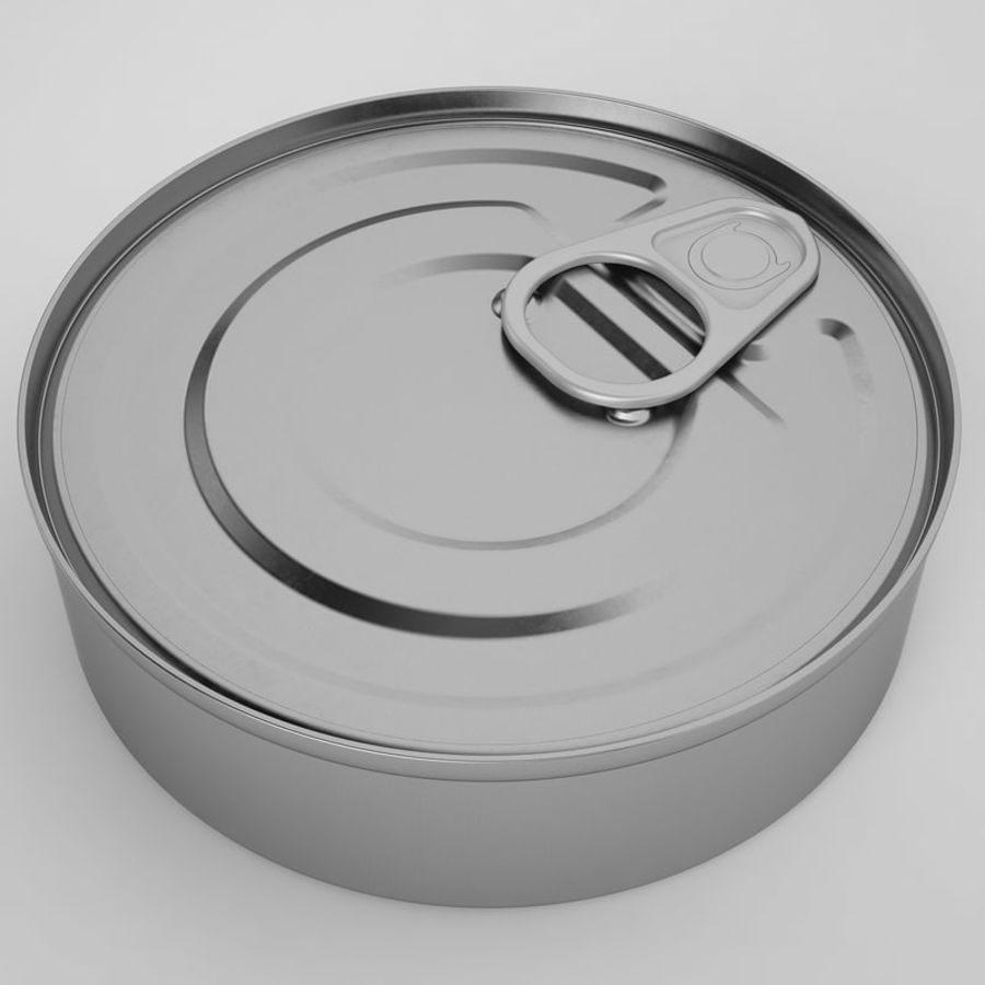 Food Can 03 royalty-free 3d model - Preview no. 9