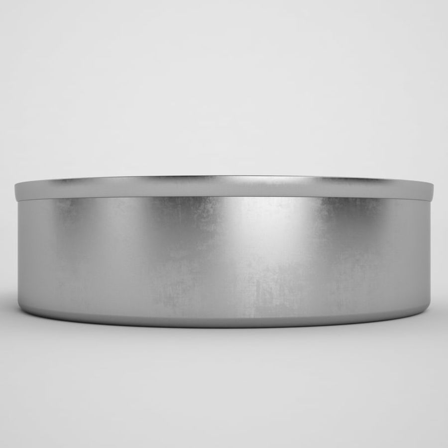 Food Can 03 royalty-free 3d model - Preview no. 5