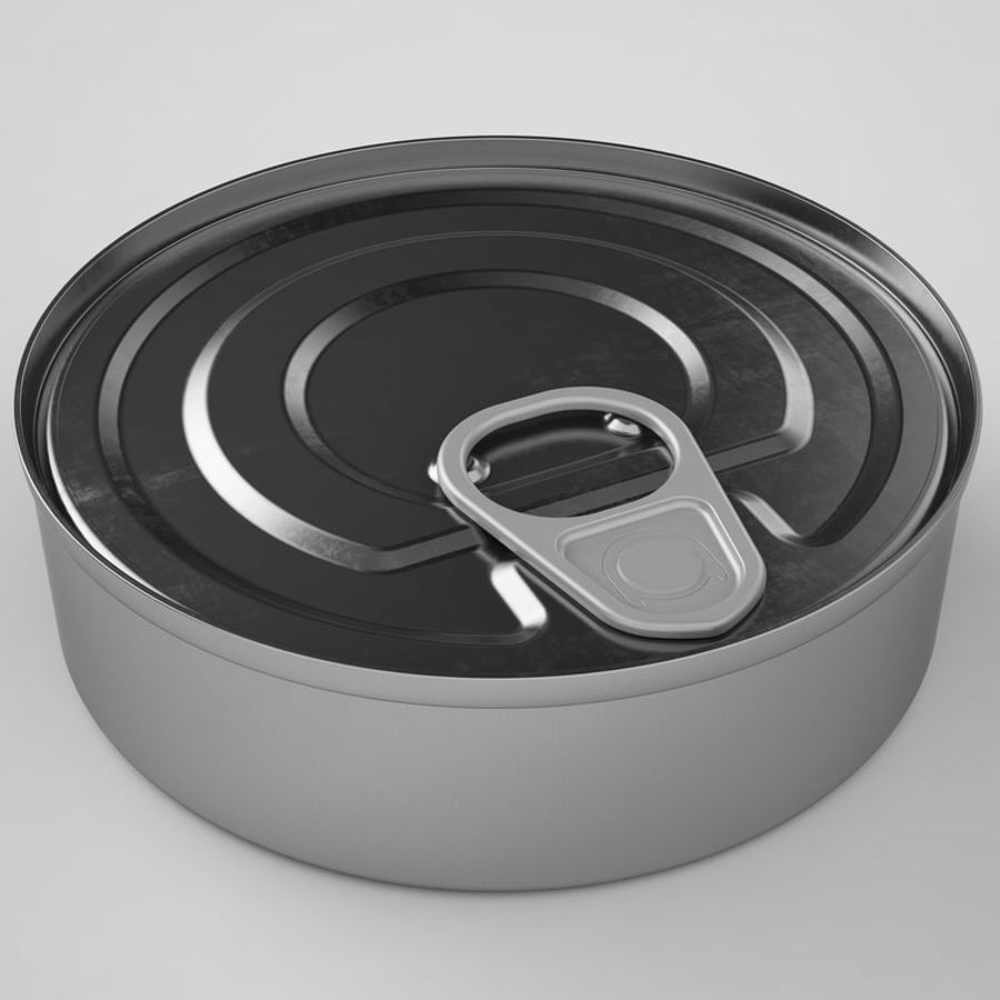 Food Can 03 royalty-free 3d model - Preview no. 11