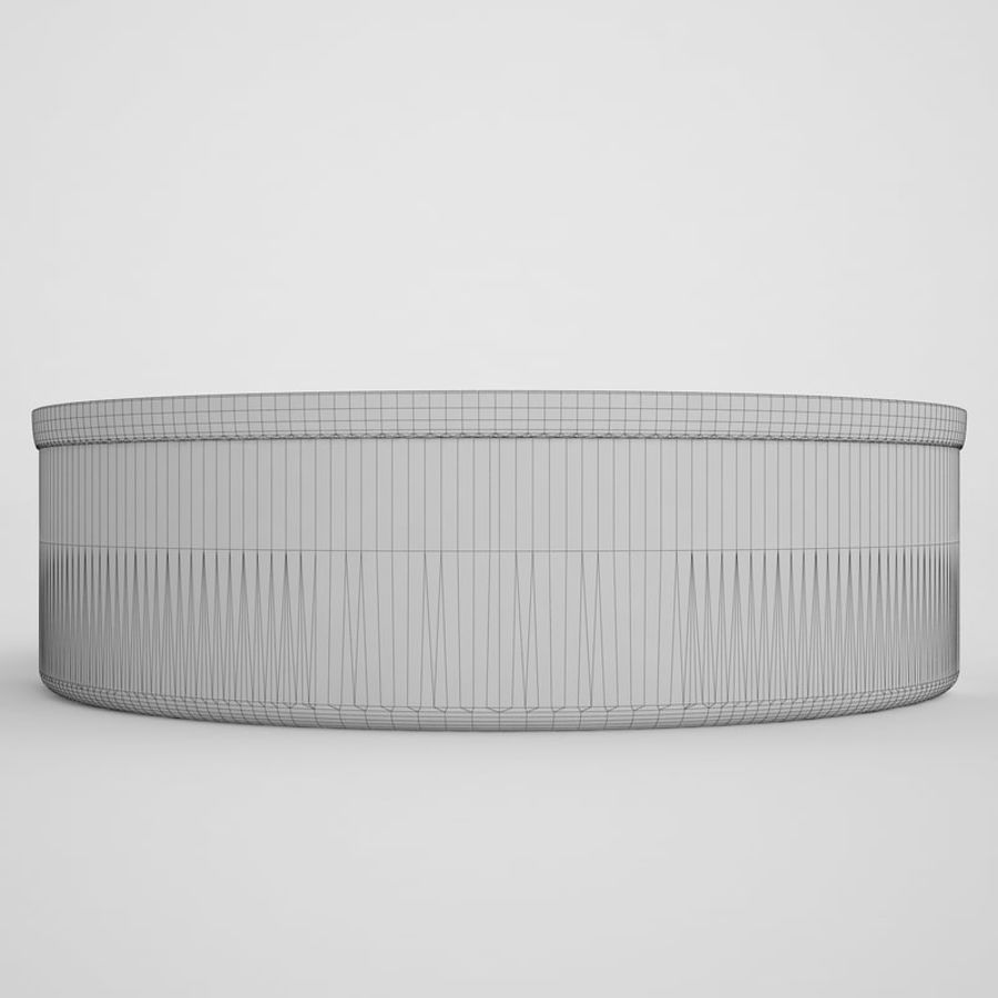 Food Can 03 royalty-free 3d model - Preview no. 6