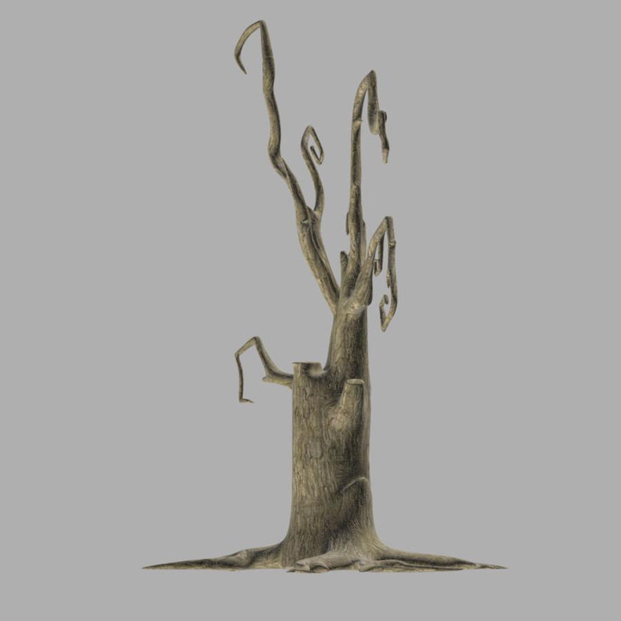 Straszne drzewo royalty-free 3d model - Preview no. 5