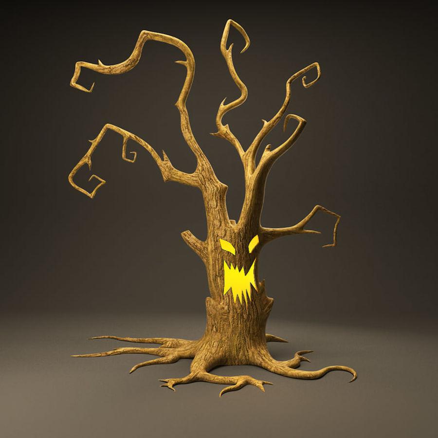 Straszne drzewo royalty-free 3d model - Preview no. 1
