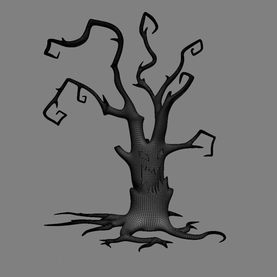 Straszne drzewo royalty-free 3d model - Preview no. 2