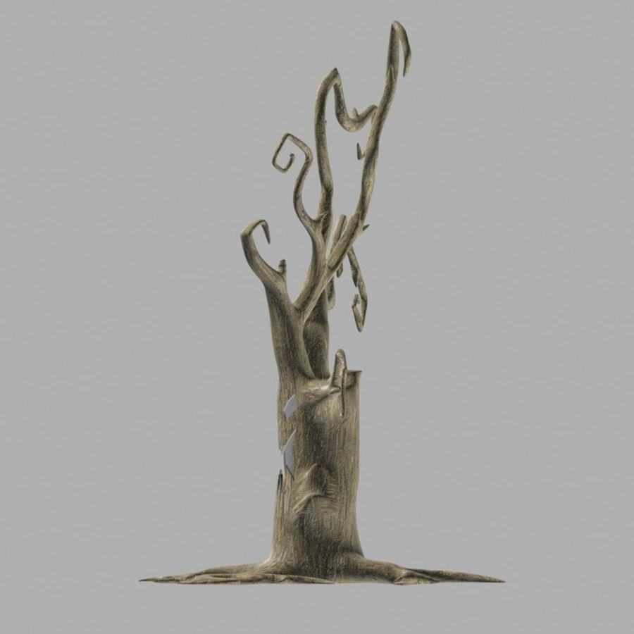 Straszne drzewo royalty-free 3d model - Preview no. 3