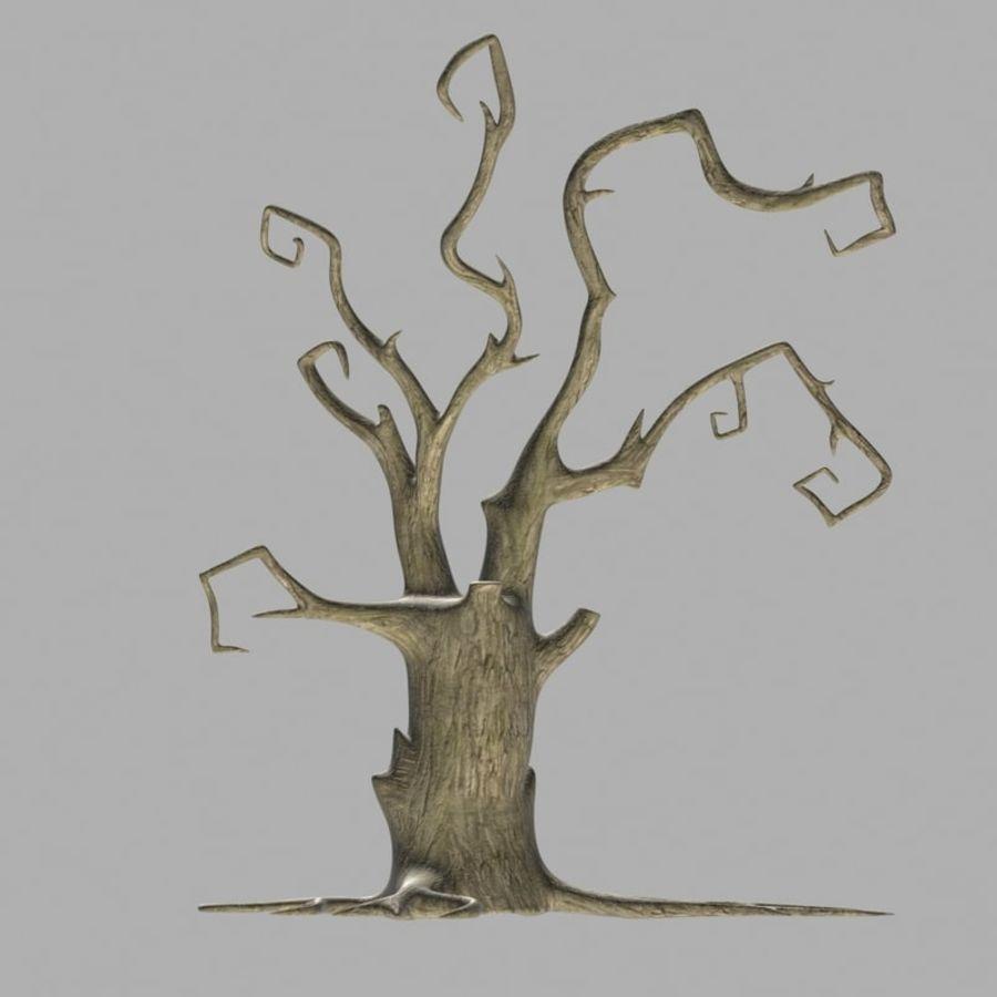Straszne drzewo royalty-free 3d model - Preview no. 4