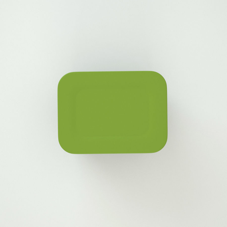 Plastic Box 1 royalty-free 3d model - Preview no. 9