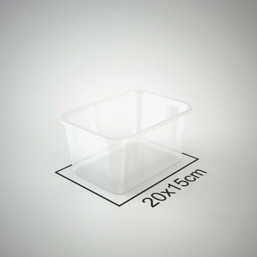 Plastic Box 1 royalty-free 3d model - Preview no. 18