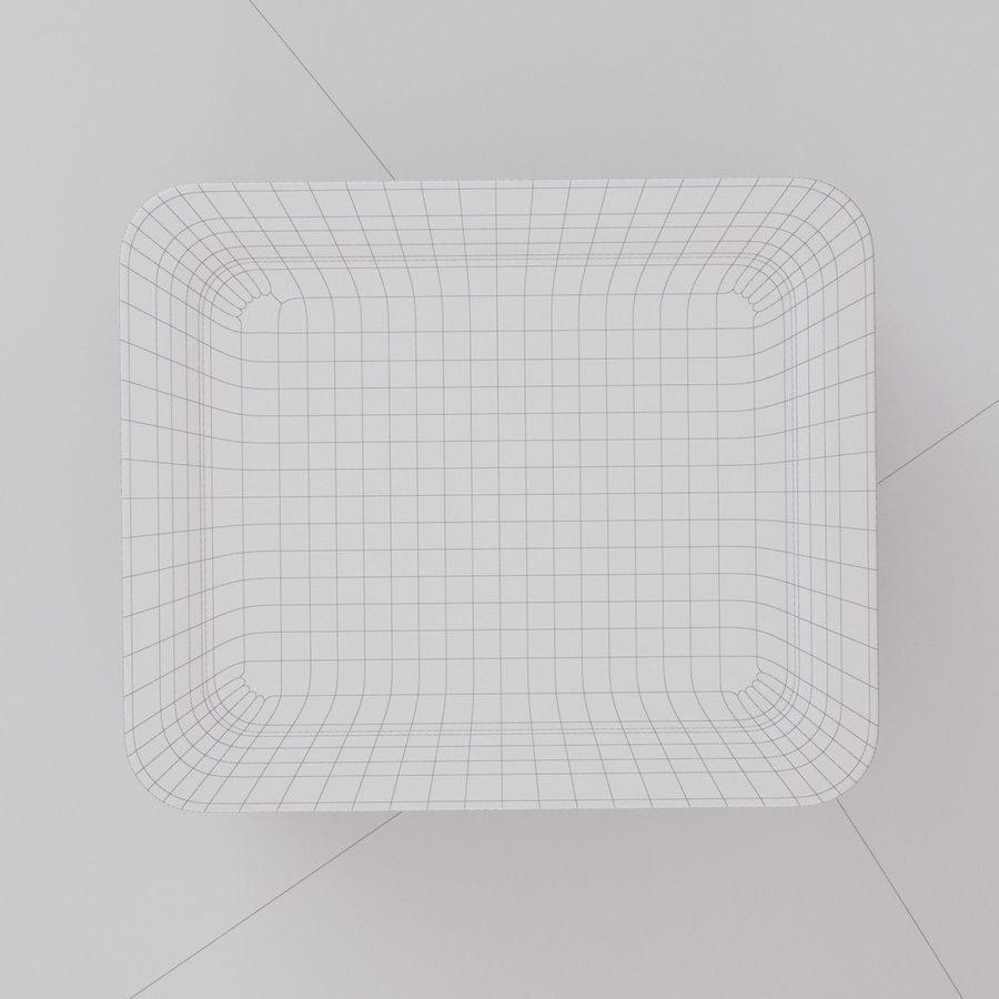 Plastic Box 1 royalty-free 3d model - Preview no. 21