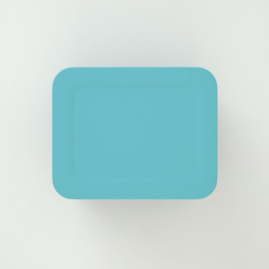 Plastic Box 1 royalty-free 3d model - Preview no. 8