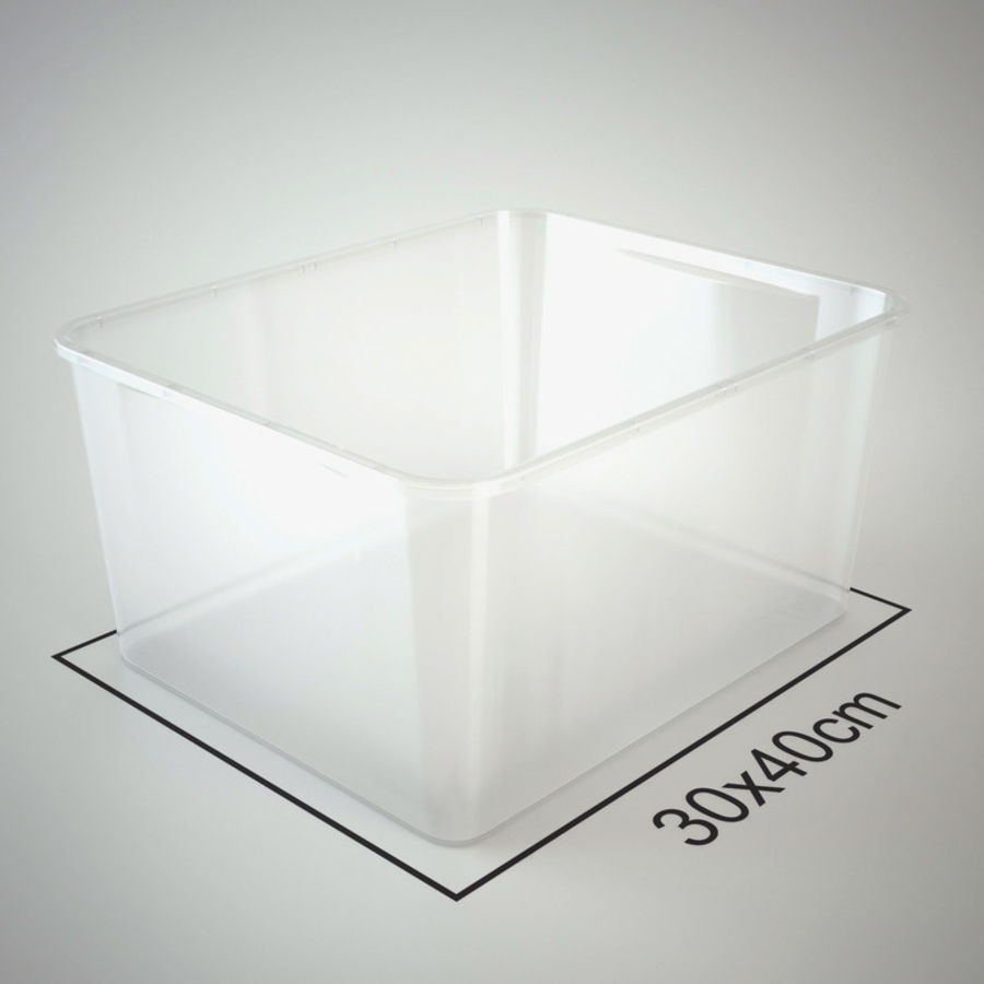 Plastic Box 1 royalty-free 3d model - Preview no. 16