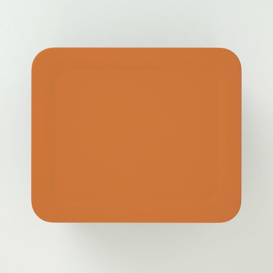 Plastic Box 1 royalty-free 3d model - Preview no. 7