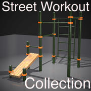 Street Workout Collection 3d model
