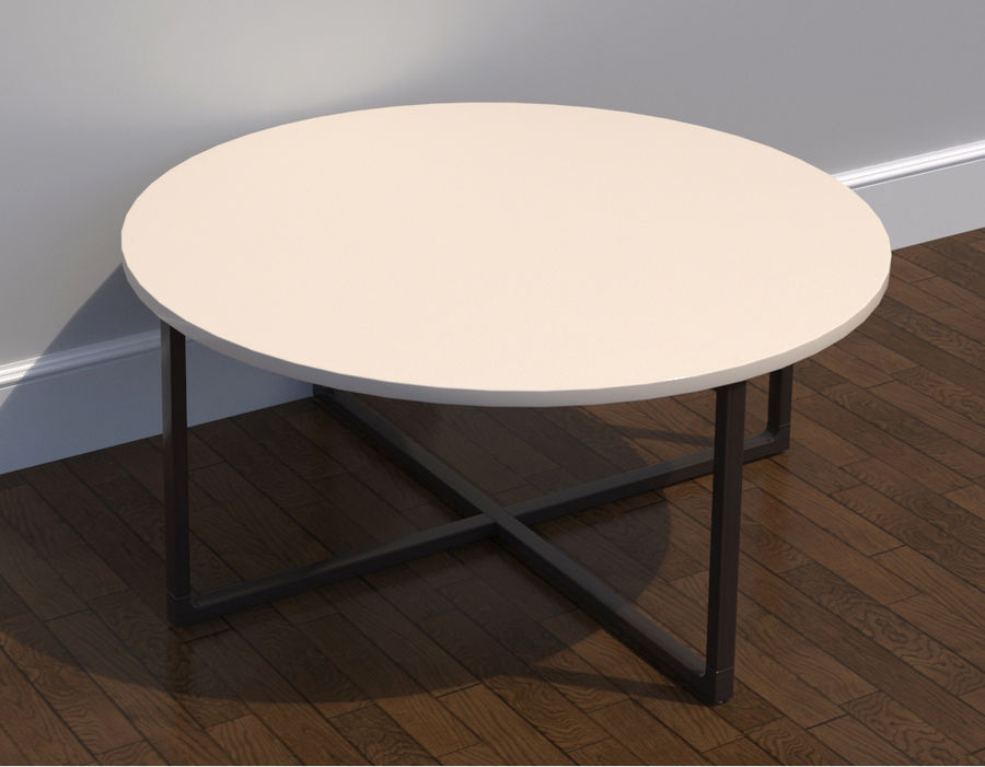 Table modèle Ikea Rissna 3D19unknown Ronde Basse WI9E2HD