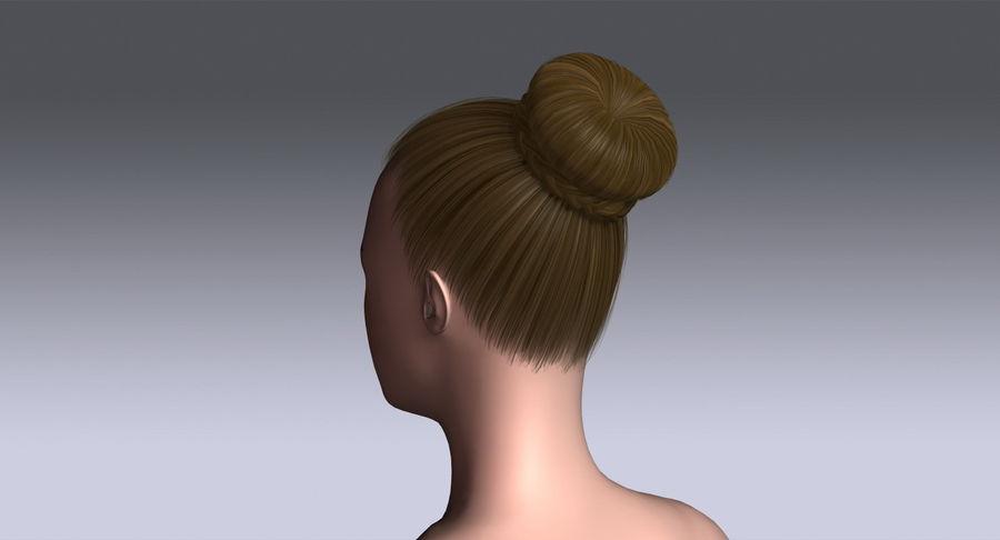 Sharon Hair 3d Model 19 X Obj 3ds Free3d