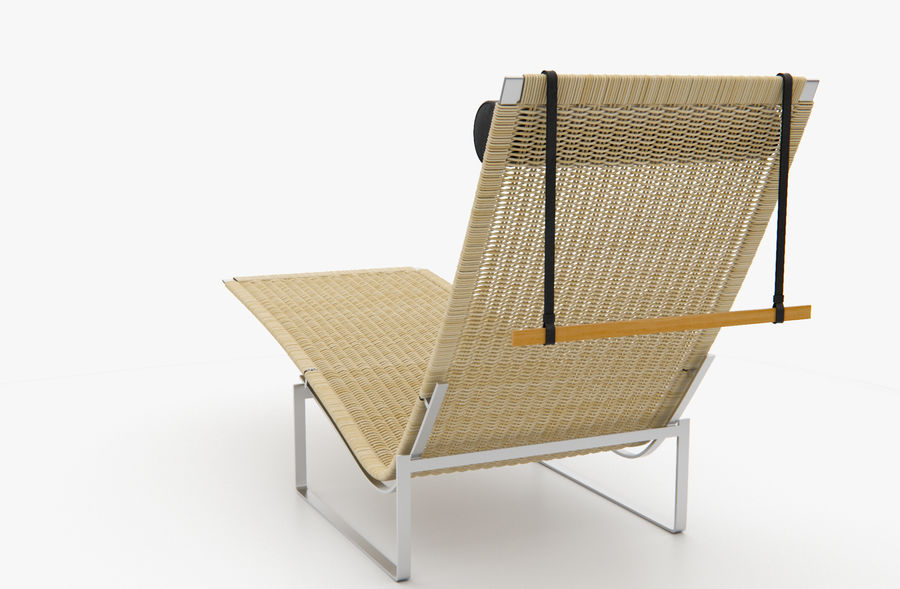 Relax Chair PK24 For Modo Royalty Free 3d Model   Preview No. 5