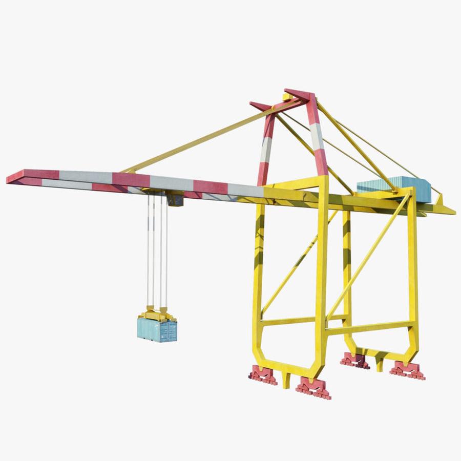 Low Poly Container Crane 3D Model $19 -  fbx  obj  max - Free3D