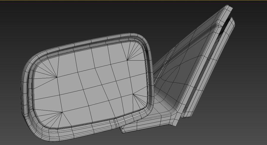 Espelho de carro royalty-free 3d model - Preview no. 4