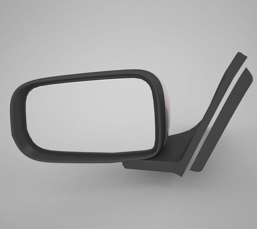 Espelho de carro royalty-free 3d model - Preview no. 1