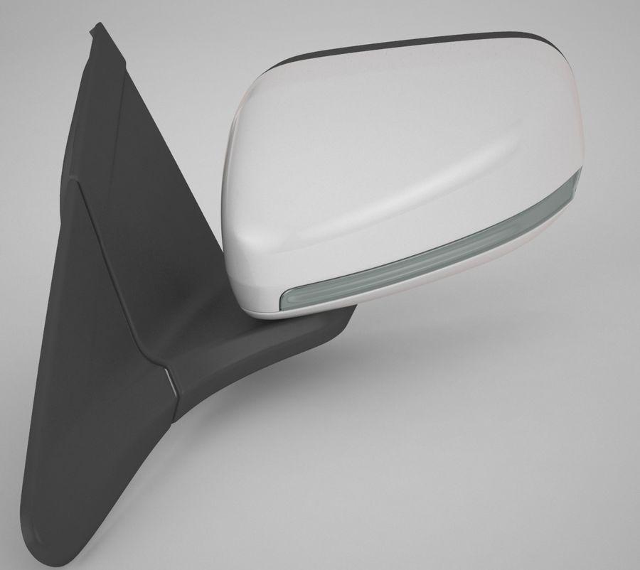 Espelho de carro royalty-free 3d model - Preview no. 3