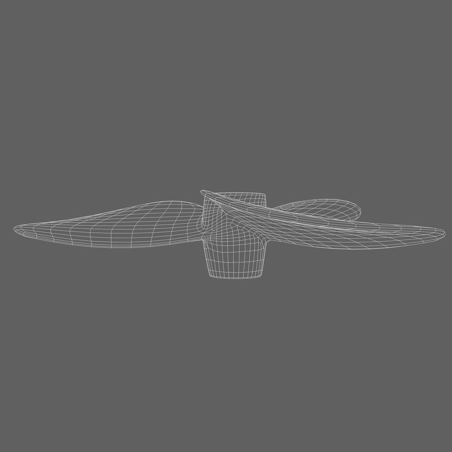 Propeller 3 Blades royalty-free 3d model - Preview no. 10