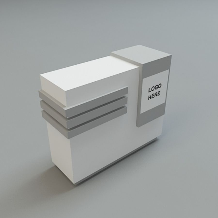counters collection 33 3d models. royalty-free 3d model - Preview no. 31