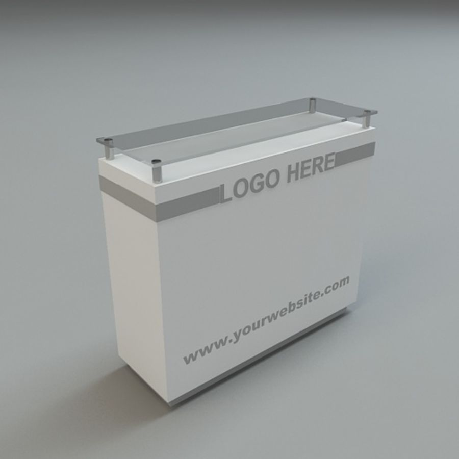 counters collection 33 3d models. royalty-free 3d model - Preview no. 22