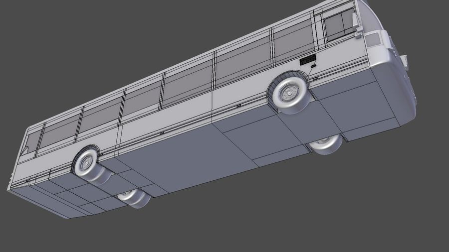 city bus royalty-free 3d model - Preview no. 31
